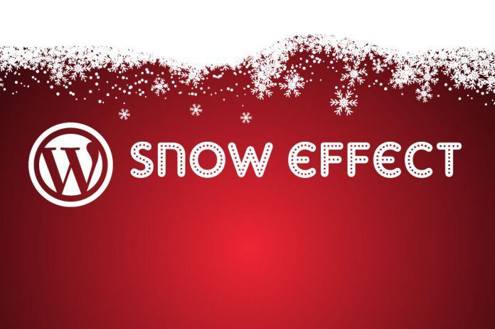 snow-effect-wordpress
