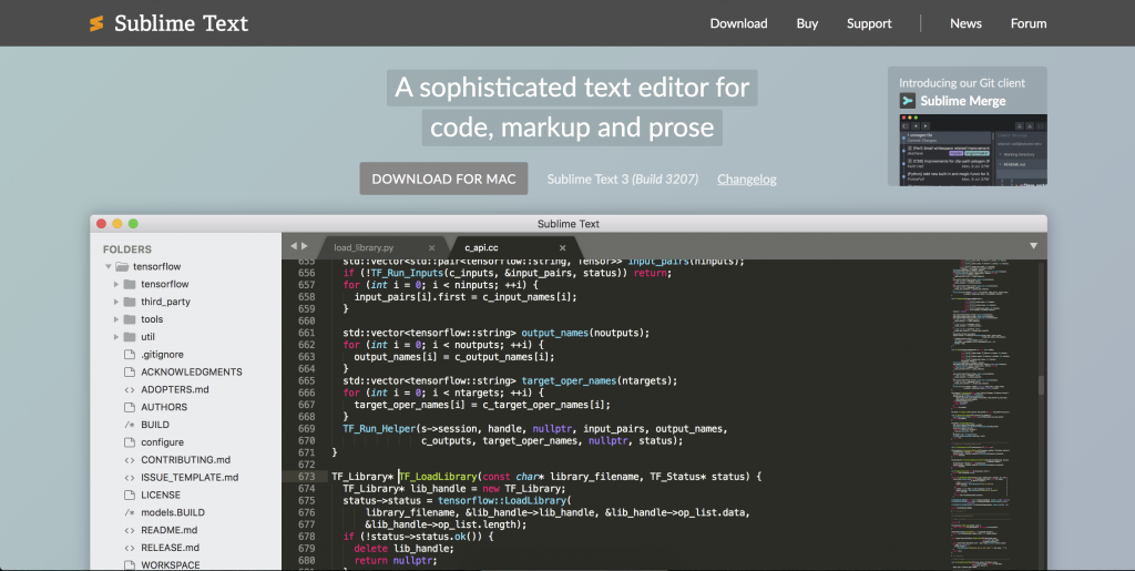 Sublime Text & plugins