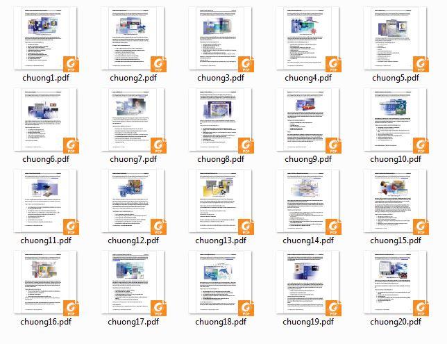 20 chương giáo trình tự học photoshop