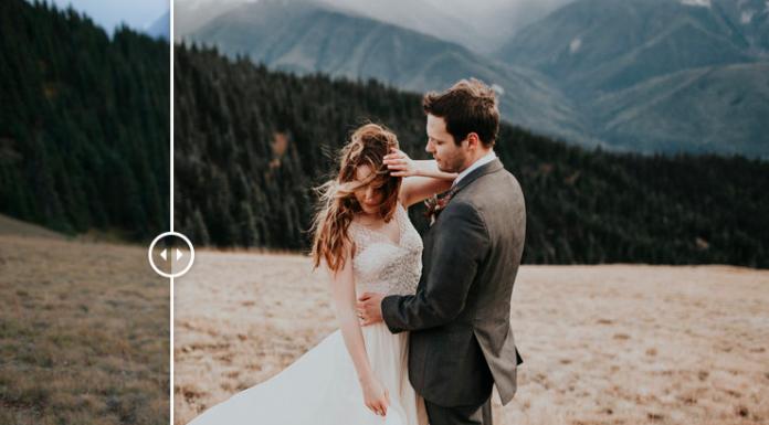 Preset Lightroom màu ảnh cưới